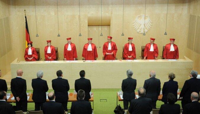 Vācijas tiesa lemj par labu ESM un fiskālās disciplīnas līgumam