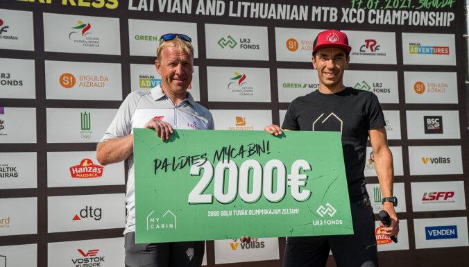 'MyCabin' ziedo 2000 eiro Latvijas jaunatnes riteņbraukšanas fonda attīstībai