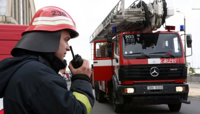 В пожаре в Риге погибла женщина