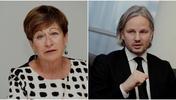 Starp Latvijas Bankas prezidenta amata kandidātiem min arī 'Swedbank' vadītāju Rubeni un Šteinbuku