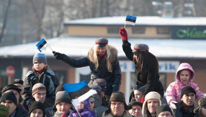 Igaunijā svin neatkarības dienu