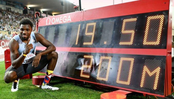 Lailss Dimanta līgas posmā kļūst par ceturto visu laiku ātrāko 200 metru sprinta distancē