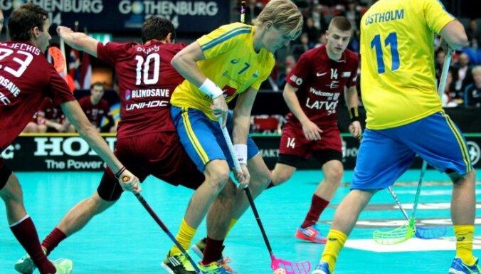 Сборная Латвии стартовала на домашнем ЧМ с рекордом посещаемости