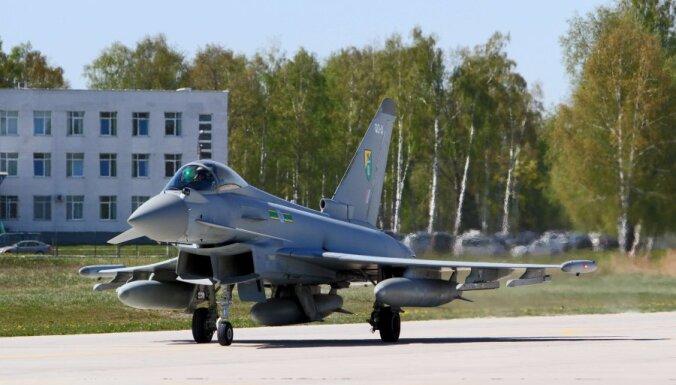 НАТО усиливает воздушное патрулирование Балтии и Польши