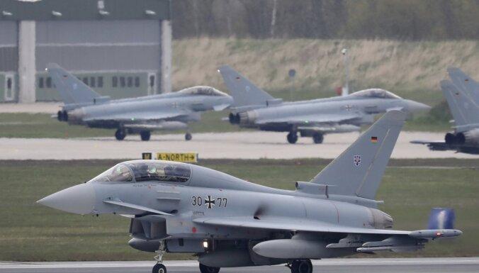 Vācija, Francija un Spānija vienojas par nākamo fāzi kopīga Eiropas reaktīvā iznīcinātāja izstrādē