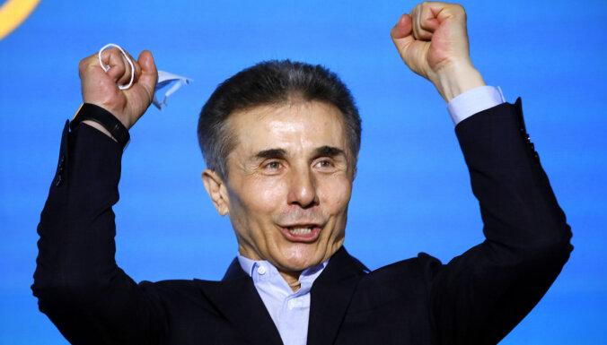 Gruzijā ietekmīgākais oligarhs Ivanišvili atkal paziņo par politikas pamešanu