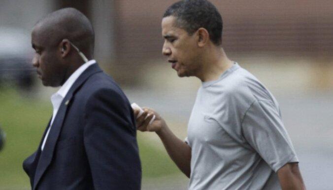Obamam basketbola spēles laikā pārsit lūpu; uzliktas šuves
