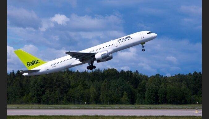 Maldina par spridzekli 'airBaltic' reisā uz Berlīni