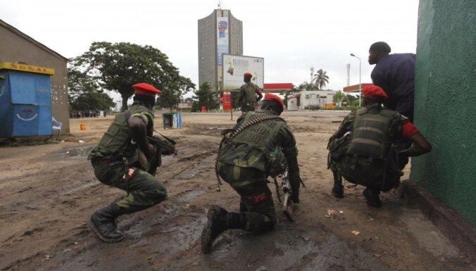 Kongo DR karavīri atsituši uzbrukumu galvaspilsētai