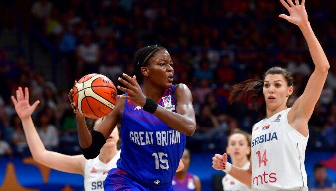 Serbijas basketbolistes izcīna Eiropas čempionāta bronzas medaļas