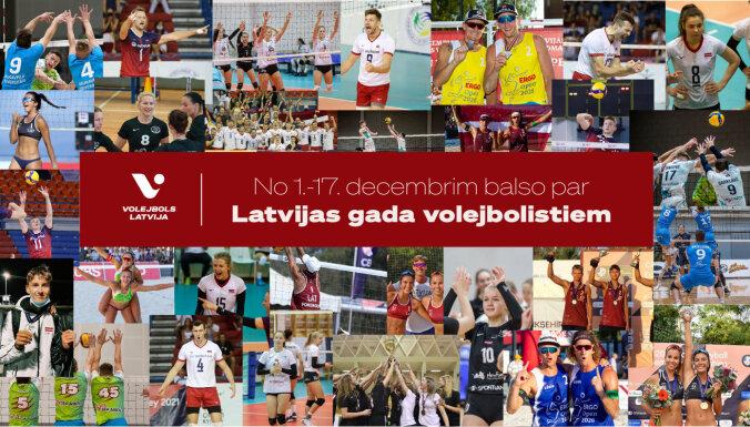 Izvēlies simpātiju un nobalso par Latvijas gada volejbolistiem