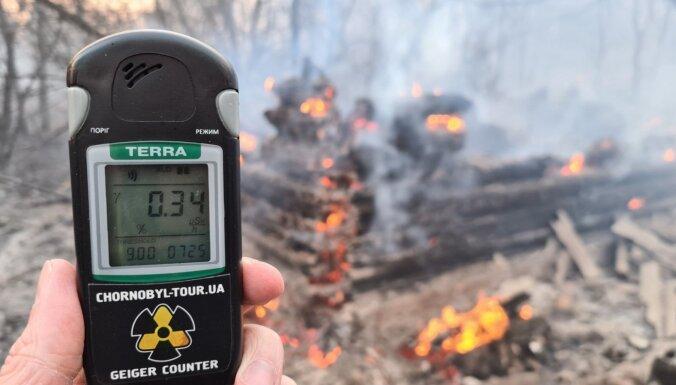 Радиоактивные облака из зоны Чернобыльской АЭС могут достичь Европы
