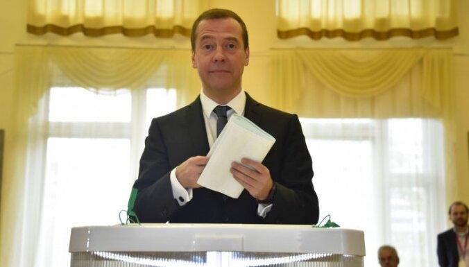 """""""Единая Россия"""" увеличила отрыв от соперников на выборах в Госдуму"""