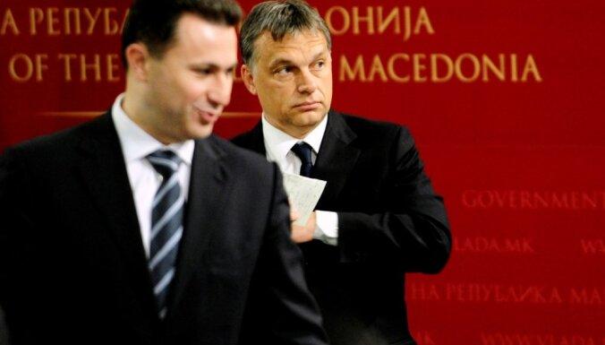 Ungārija piešķīrusi politisko patvērumu bēguļojošajam Maķedonijas ekspremjeram Gruevskim