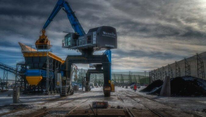 Krievijas ostu straujā attīstība turpina pārveidot kravu tranzīta vēsturiskos maršrutus