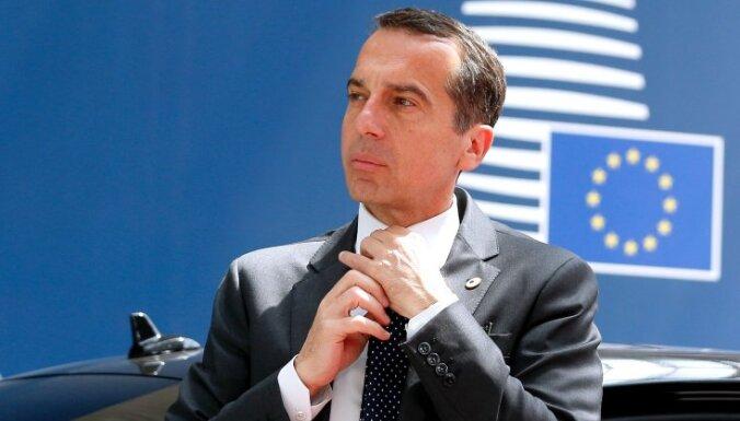 Turcija nevar cerēt uz iestāšanos ES, paziņo Austrijas kanclers