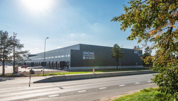 ФОТО: В Риге достраивается крупный логистический центр A6