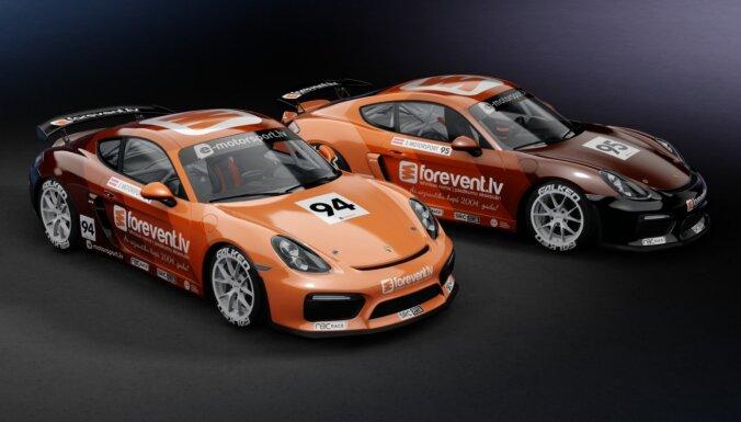 Unikāla sacensību pieredze digitālā autosporta braucējiem – sponsori un komandu izveide