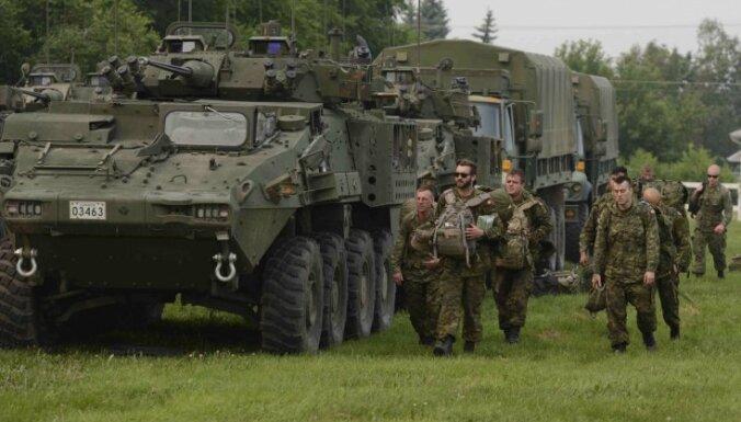 Министр обороны: Число солдат Канады в Латвии вряд ли будет увеличено