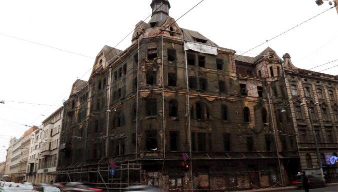Развалина на столичной улице Марияс: владелец намерен ее восстановить