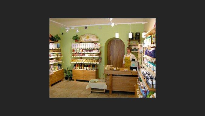 Biotēka. Pirmais health food shop Latvijā