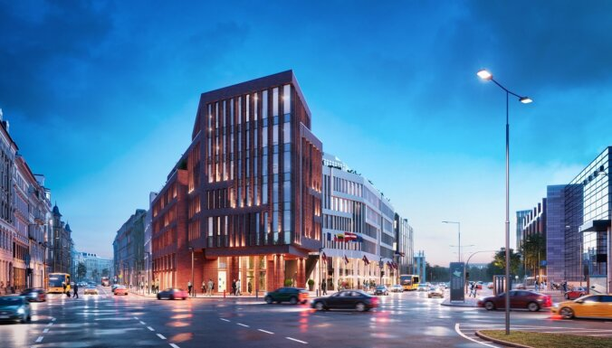 Ieguldot 55 miljonus eiro, Rīgas centrā būvē biznesa centru 'Novira Plaza'