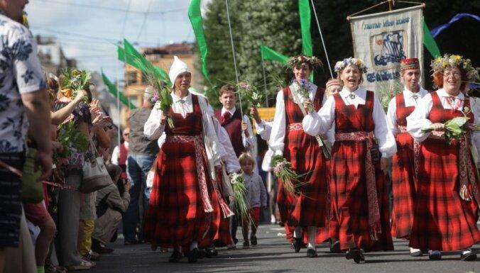 Dziesmu un deju svētku laikā Rīgā būs būtiski satiksmes ierobežojumi