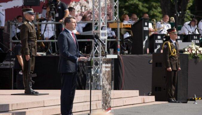 Pārspīlētā paškritika vājina Latviju, norāda Vējonis