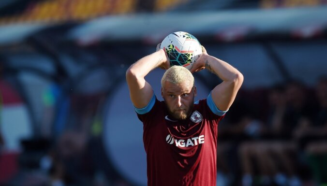 RFS uzvar 'Jelgavu' un sezonu turpina nevainojami