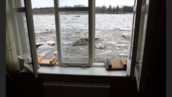Даугавпилс: убытки от паводка— десятки тысяч латов