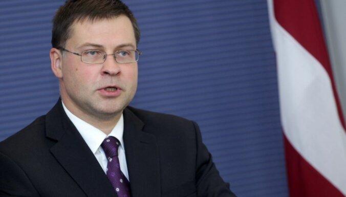 Dombrovskis: nākamais gads Latvijai būs stabilas izaugsmes un iespēju gads