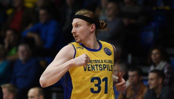 'Ventspils' basketbolisti LBL vadošo komandu duelī apspēlē 'Ogri'