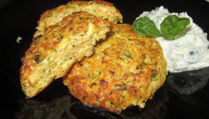 Овощные блинчики с сыром для тех, кто считает калории