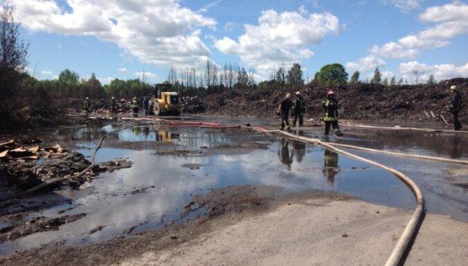 Нелегальная свалка была хорошо замаскирована, отходы могли ввозить из Скандинавии