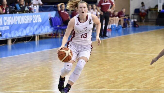 Латвийские девушки второй раз в истории пробились в четвертьфинал ЧЕ