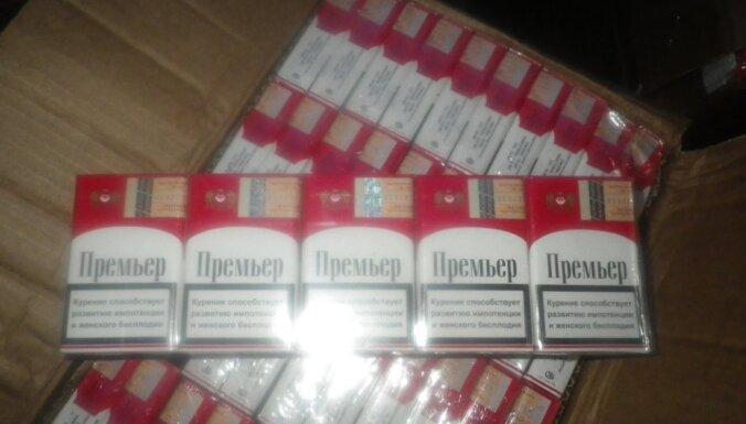 Объем контрабандных сигарет в Латвии— по-прежнему самый высокий в Балтии; в Даугавпилсе— более 50%