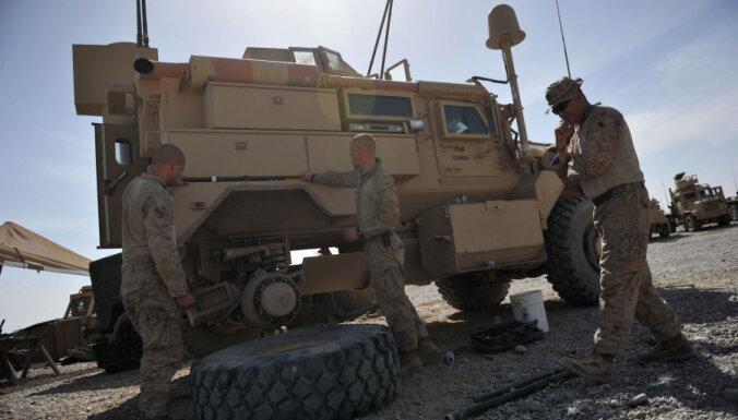 Американские военные устроят распродажу бронемашин