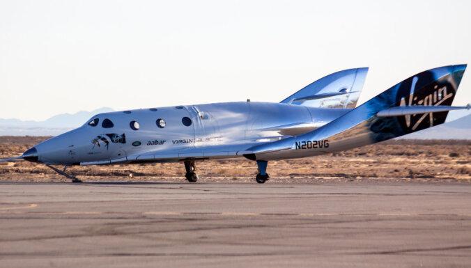 'Virgin Galactic' sola kosmosā lidot 'pēc nedēļām, ne mēnešiem'