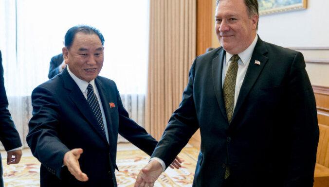 В КНДР недовольны результатами переговоров с госсекретарем США