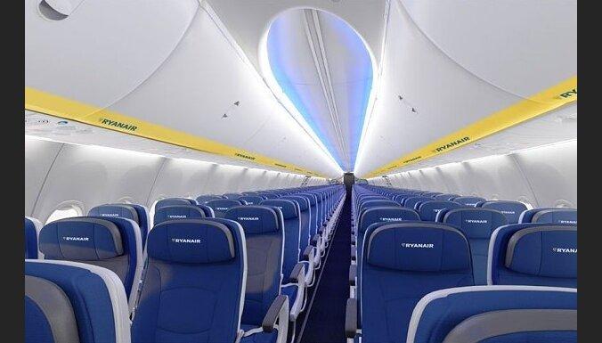 'Ryanair' lidmašīnu salons piedzīvos būtiskas izmaiņas