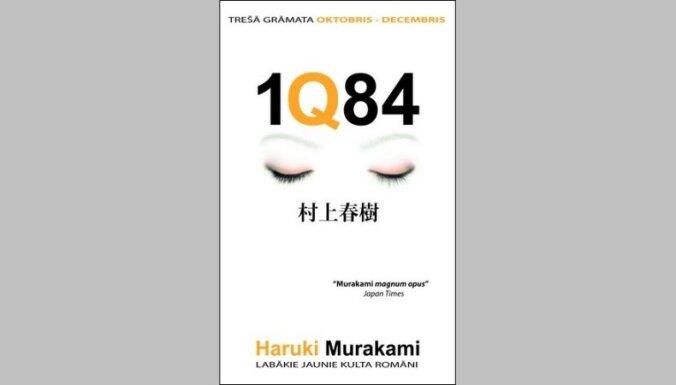 Iznāk Murakami triloģijas '1Q84' noslēdzošā daļa