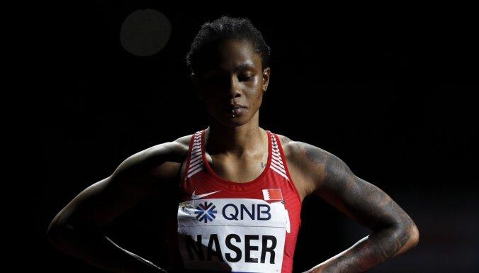 Pasaules čempione 400 metru skriešanā saņem pagaidu dopinga diskvalifikāciju
