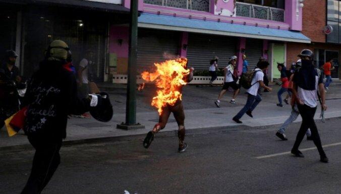 В Венесуэле в 2019 году погибли 57 демонстрантов