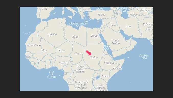 Sudānā militārās lidmašīnas avārijā 13 bojāgājušie
