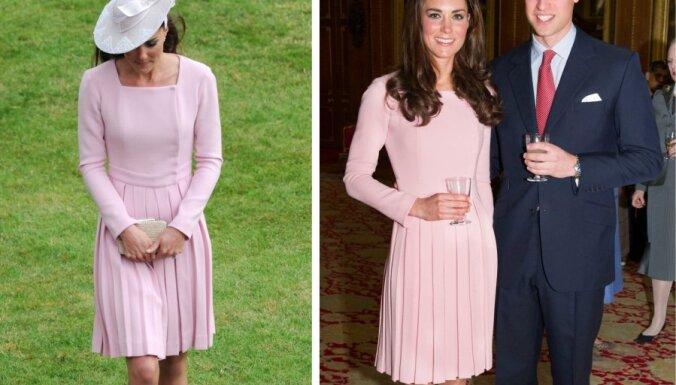 Briti sašutuši: Midltone uzvilkusi to pašu kleitu