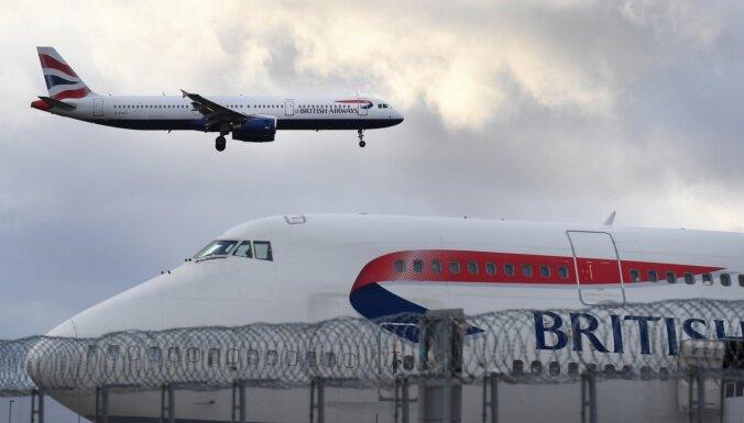 Aviokompānija 'British Airways' izpārdod mantas