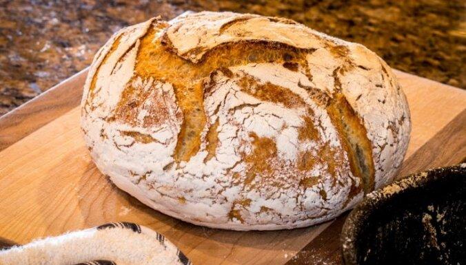 Katlā cepta Ņujorkas maize bez mīcīšanas