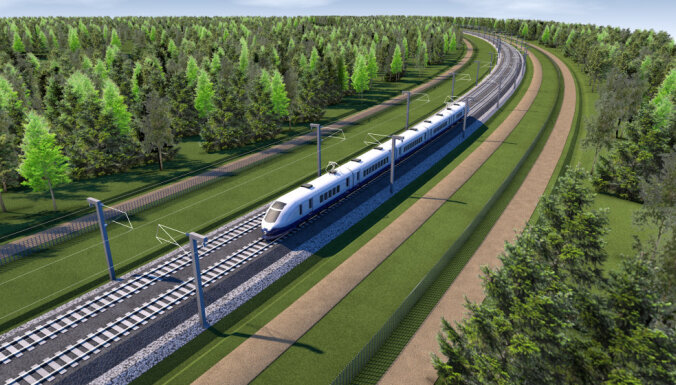 Эксперт: Rail Baltica создаст в Латвии новые промышленные зоны (+карта)