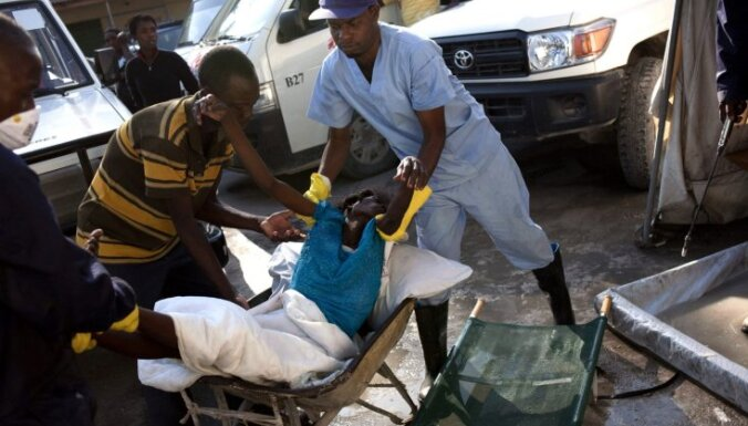 Holeras epidēmijas upuru skaits Haiti pārsniedzis 3000