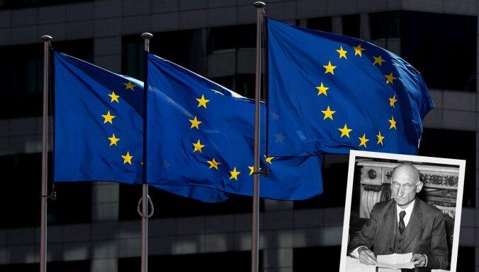 Декларации Шумана — 70 лет. В Латвии отмечают День Европы